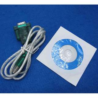 RS232 to USB convertor cable