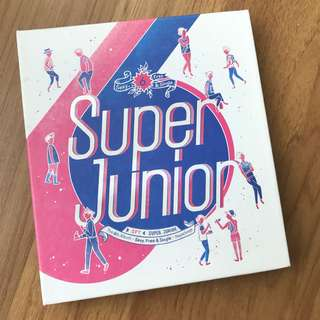 Super Junior SPY The 6th Album Repackage