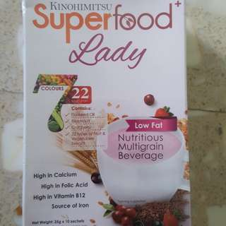 Kinohimitsu Superfood + Lady