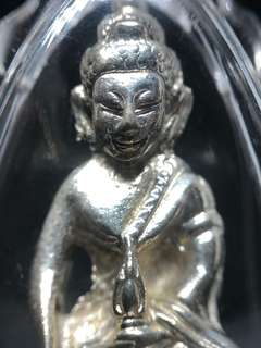 ✅ Thai Amulet - Phra Kring Alpaka - Sliver Plated - BE2555 - Mass Blessed - Thai Amulets