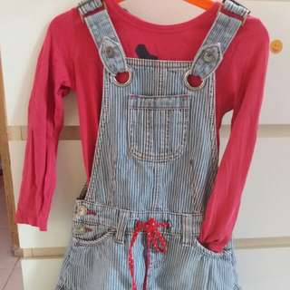 Fox overall 4-6y