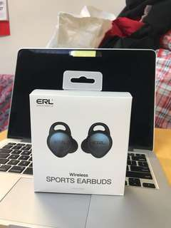 ERL indiegogo product wireless sports earbuds