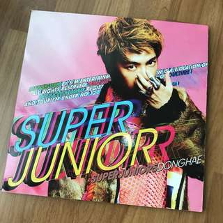 Super Junior Mr Simple album (Donghae cover)