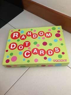 Tensai Random Dot Cards