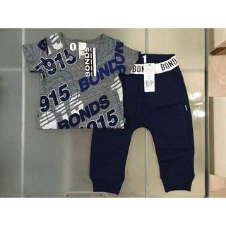 Bonds Tee & Trackie Set for 12-18m