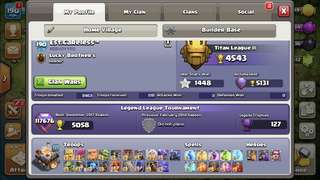 Clash of Clans & Royale account.