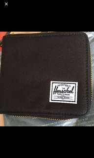 Herschel Wallet short zip (Black)