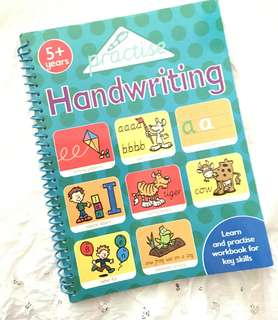 Charity Sale! Practise Handwriting Activity Book 5+ Years
