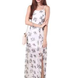 BN mgp label reiko flowy Maxi dress