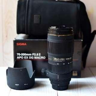 Sigma Lens 70-200mm Nikon