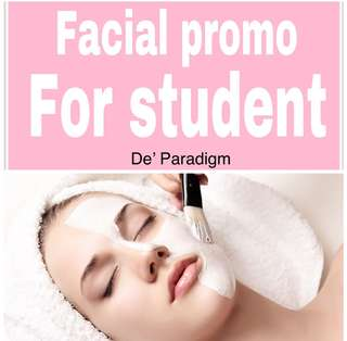 Facial for STUDENT