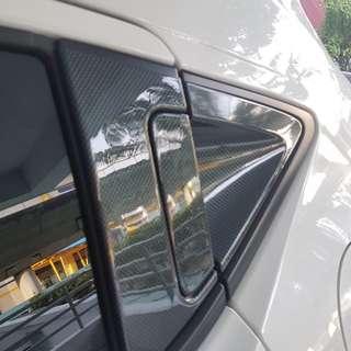 vezel back door handle cover