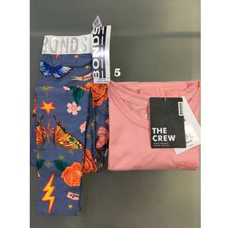 Bonds Tee & Legging Set Size 5