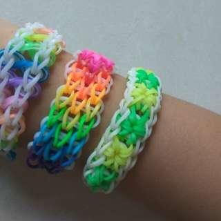 Handmade Loom Band Bracelets