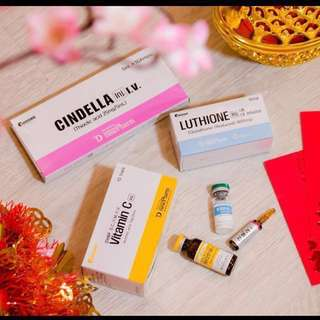 Cindella Whitening Injection 1200mg 白玉美白针