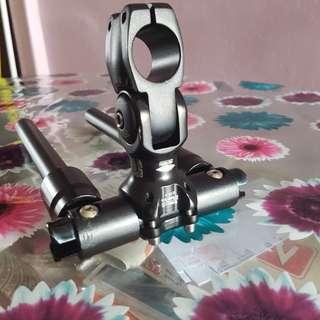Truvativ stem adapter and stock foldable handle bars