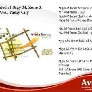 Avida Prime Taft Condo For Rent