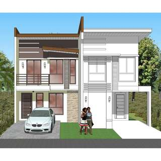 Ready For Occupancy Duplex House and Lot in North Olympus Subd.