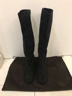 H&M Suede knee High Boots