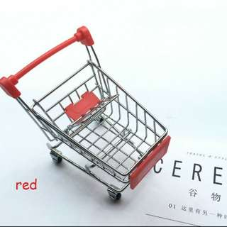 BN red Trolley cart display toy