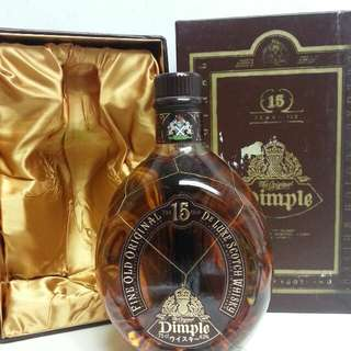 Dimple 15 Years Old Scotch  Whisky 天寶15年蘇威 750ml