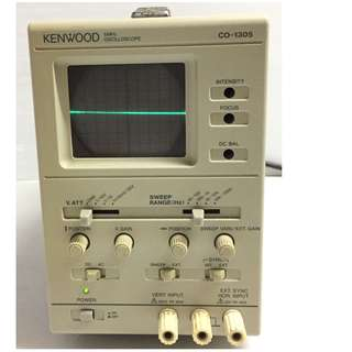 KENWOOD CO-1305 5MHZ OSCILLOSCOPE