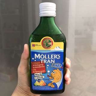 Mollers Tran Minyak Ikan (tuti frutti)