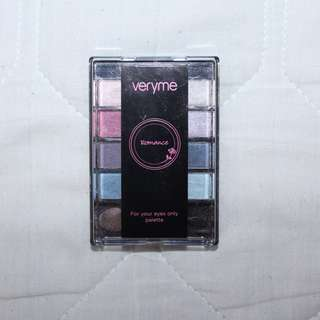 Veryme Romance For Your Eyes Only Palette