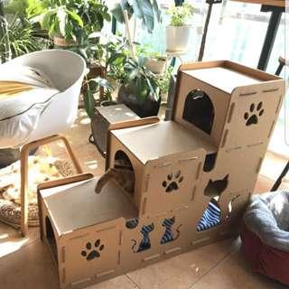 🐺🐈貓貓紙板屋🐾🐾