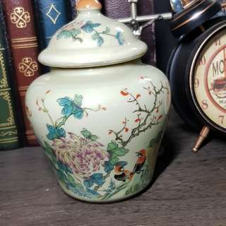 Imitation Antique Bird n flower logo Decoration Vase