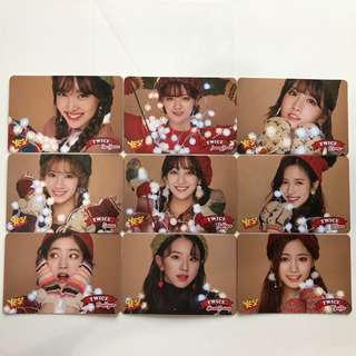 Twice Yes! Card 專輯卡part3 白卡 T301-T309