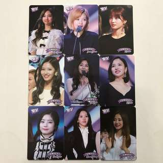Twice Yes! Card 專輯卡part3 白卡 T310-T318
