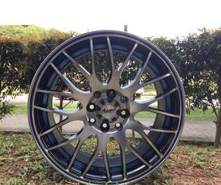 16in PCD 8H-100/114.3 Taiwan Rims On Sale