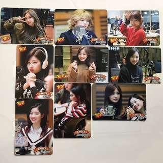 Twice Yes!專輯卡part3 白卡 T328-T336