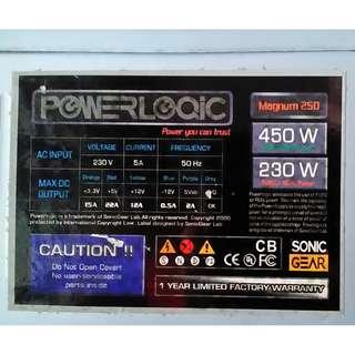 PowerLoqic Magnum 450W ATX Power Supply
