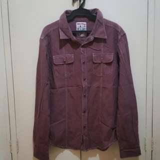 Folded & Hung Long Sleeves Polo Shirt