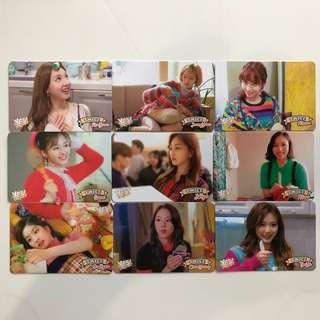 Twice Yes! Card 專輯卡part3 白卡 T346-T354