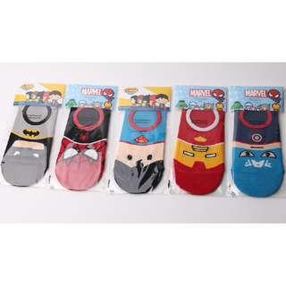 Super Heros Foot Socks