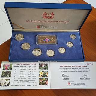 1996 Sterling Silver Proof Coin Set