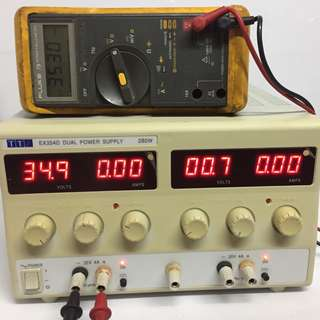 TTI EX354D DUAL POWER SUPPLY 280W