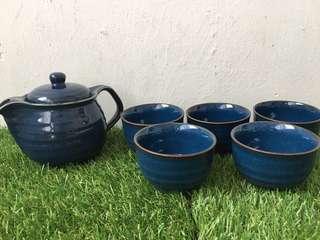 Shikino Utsuwa Teapot Set of 5 Teacup