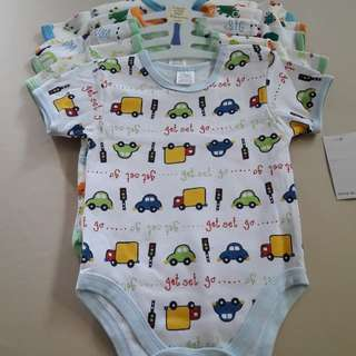 Baby Boy Romper set of 5 pieces
