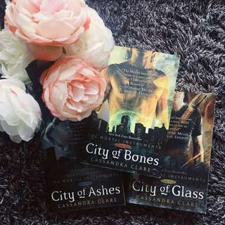 The Mortal Instruments by Cassandra Clare (3 books)
