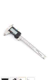 Digital vernier caliper real stainless steel