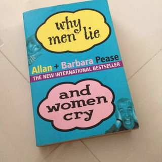 [PL] Why Men Lie And Women Cry Book