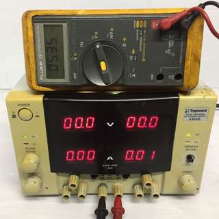 TOPWARD 6303D DUAL-TRACKING DC POWER SUPPLY BUTTON MISSING