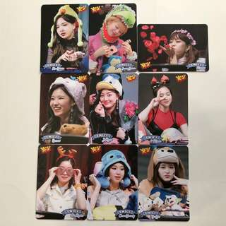Twice Yes! Card 專輯卡part3 白卡 T364-T373