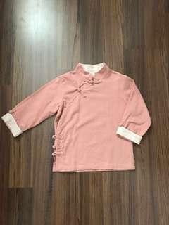 Dusty Pink Boy CNY Top