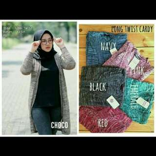 Long twist cardy