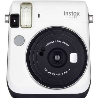 Fujifilm instax mini 70 instant film camera ( moon white )